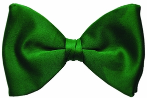 Bow Tie Formal Green Costume
