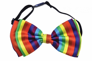 Bow Tie Rainbow Costume