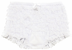 Boy Shorts Ruffled White on gas rc helicopters for sale