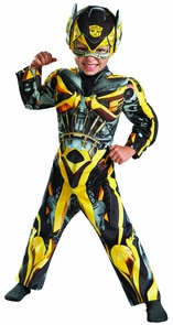 Bumblebee Toddler Muscle 3t-4t Costume