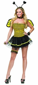 Busy Bee Adult Sm Med 2-8 Costume