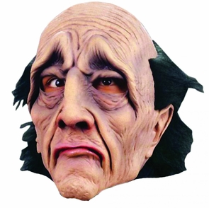 Butler Did It Latex Mask Costume