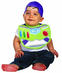 Buzz Bib With Hat Costume