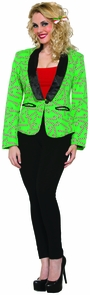 Candy Cane Blazer Adult Small Costume