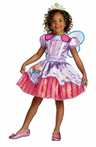 Candyland Deluxe Girl 3t-4t Costume