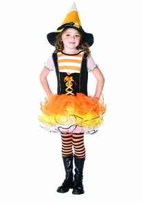 Candyland Witch Chld Sml 4-6 Costume