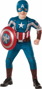 Capt America Child Small Costume