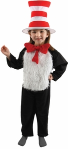 Cat In The Hat Childs 4-6 Costume
