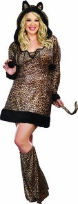 Cheetah Luscious 1x/2x Costume