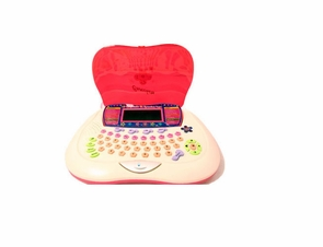 Childrens Laptop Computer Teaches Spanish, Speaks, And Is Interactive Too  - Great Educational Toy