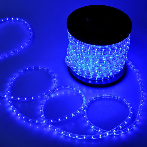 Christmas lighting led rope light 150ft blue w connector aloadofball Gallery