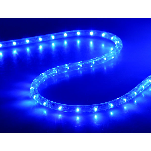 Christmas lighting led rope light 150ft blue w connector mozeypictures Images