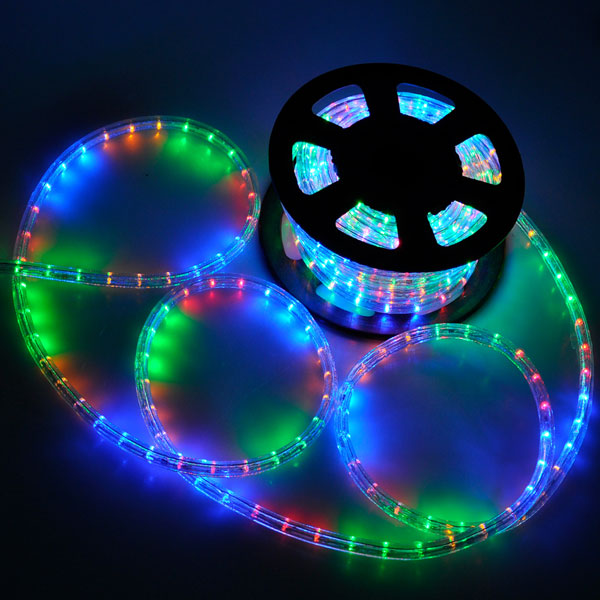 Christmas lighting led rope light 50ft white ii w connector aloadofball Images