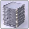 "Clear Restaurant Menu Cover Folder 12 View 8-1/2""x11"" 20pcs"