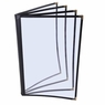 "Clear Restaurant Menu Cover Folder 8 View 8-1/2""x11"" 20pcs"