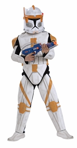 Clonetrooper Cody Dlx Chld Med Costume