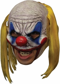 Clooney Clown Chinless Dlx Mas Costume