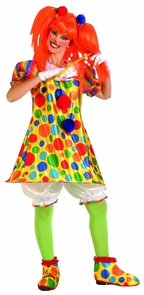 Clown Giggles Adult Costume