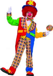 Clown On The Town Child Md 8-1 Costume