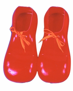 Clown Shoes Red 12in Costume