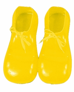 Clown Shoes Yellow 12in Costume