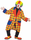 Clubbers Clown Jacket Costume