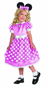Clubhouse Minnie Pink Lg 4-6x Costume