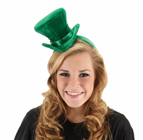 Cocktail Hat Green Costume