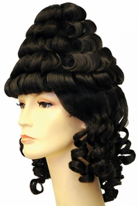 Colonial Lady Tower Wig Costume