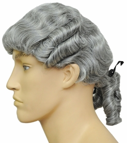 Colonial Man Wig Costume