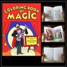 Coloring Book of Magic Large Size Easy To Do Magic Trick
