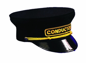 Conductor Hat Xl Sz 7 5/8 Costume