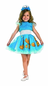 Cookie Monster Frilly 3t-4t Costume