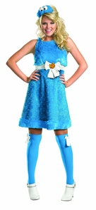 Cookie Monster Sassy 8-10 Costume