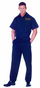Coroner Shirt Adult 42-44 Costume