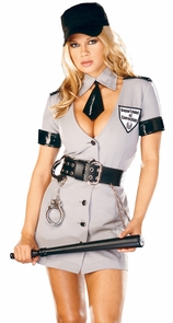 Corrections Officer Large Costume