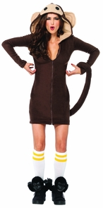 Cozy Monkey Adult Small Costume