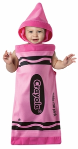 Crayola Tickle Me Pink Bunting Costume