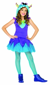 Cross Eyed Carlie Large 10-12 Costume