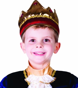 Crown Child Red Costume