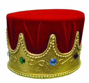 Crown Jewel With Red Turban Costume