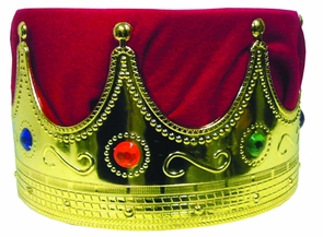 Crown Kings With Red Turban Costume