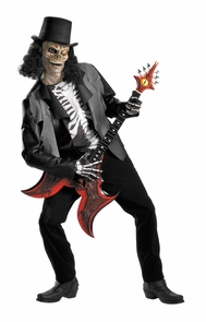 Cryptic Rocker Ad Std 42-46 Costume