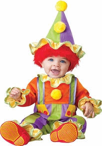 Cuddly Clown Toddler 6-12m Costume