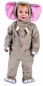 Cuddly Elephant Infant 6-12m Costume