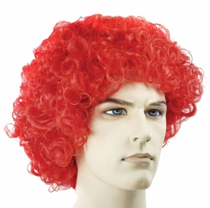 Curly Clown Fd Red Costume