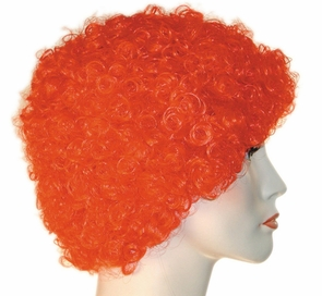 Kk Short Curly Clown Wig Costume