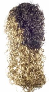 Curly Fall Light Gold Blonde Costume