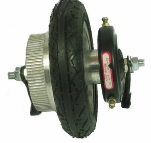 Currie Izip 130 Rear Wheel Assembly