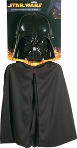 Darth Vader Child Mask And Cap Costume